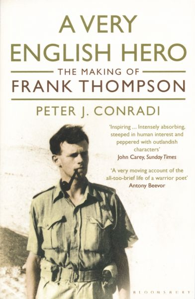 A Very English Hero: The Making of Frank Thompson book cover